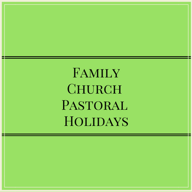 006 – Family – Church – Pastoral – Holidays
